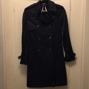 Black express raincoat